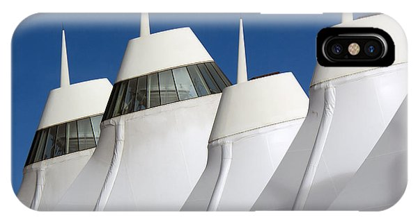 Denver International Airport Dia Colorado IPhone Case