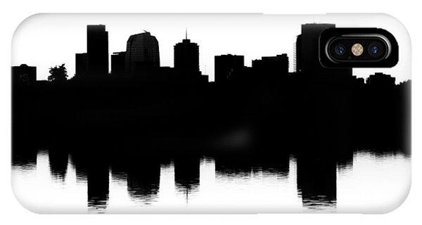 Denver Silhouette IPhone Case