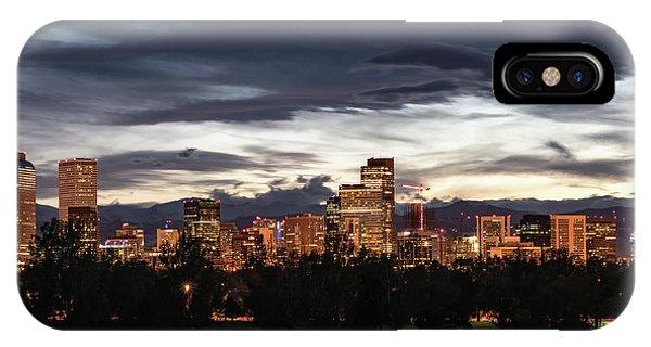 Denver Skyline IPhone Case