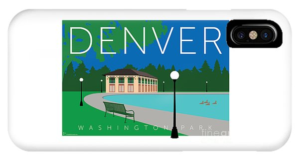 Denver Washington Park IPhone Case