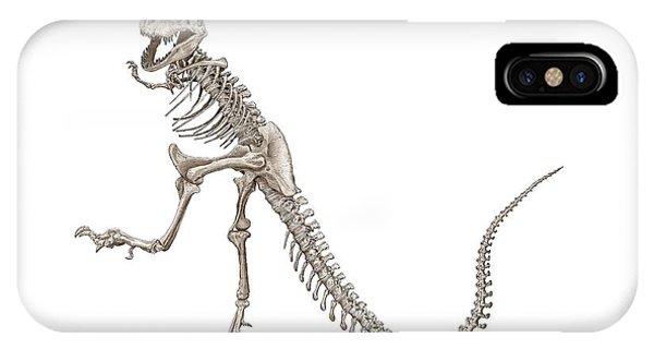 Denvers Dancing T Rex IPhone Case