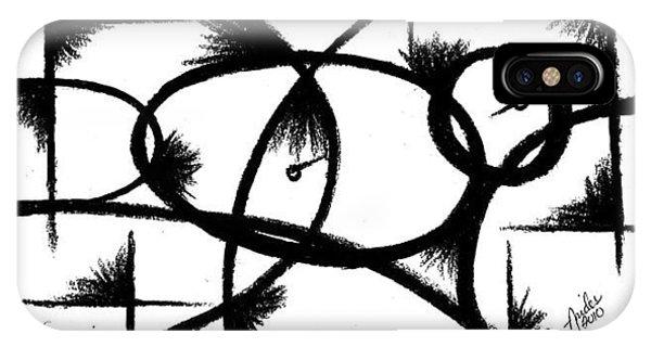 iPhone Case - Depression I by Arides Pichardo