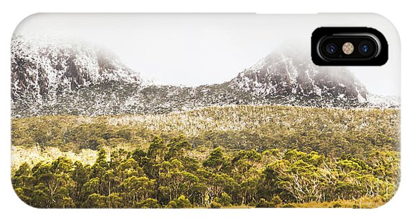Rocky Mountain iPhone Case - Depths And Ranges  by Jorgo Photography - Wall Art Gallery