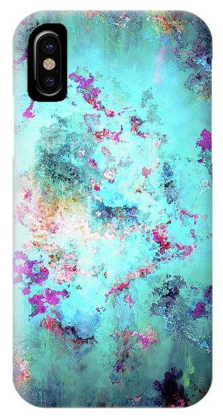 IPhone Case featuring the digital art Depths Of Emotion - Abstract Art by Jaison Cianelli