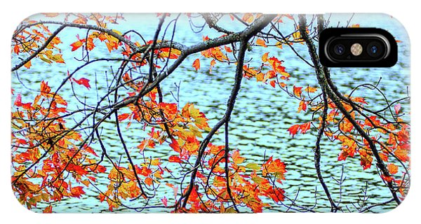 IPhone Case featuring the photograph der Oktober by Expressive Landscapes Fine Art Photography by Thom