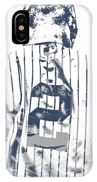Derek Jeter New York Yankees Pixel Art 11 IPhone Case