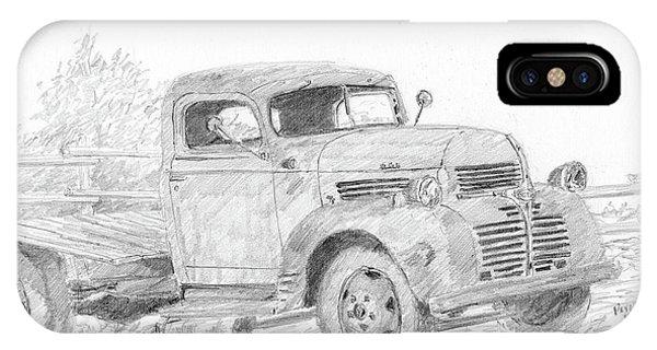 Derelict Dodge IPhone Case