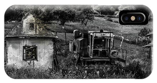 Derelict Farm, Transylvania IPhone Case