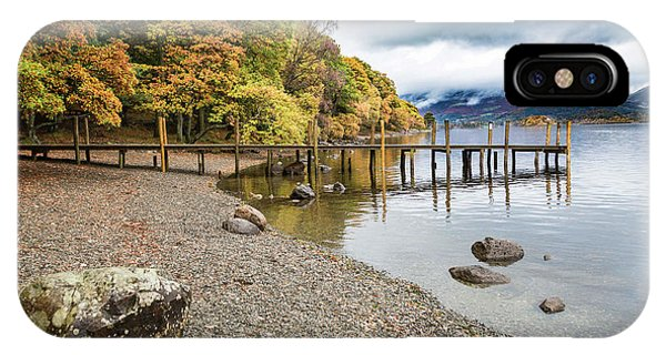 Derwent Jetty IPhone Case