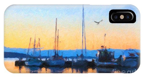 Derwent River Sunset IPhone Case