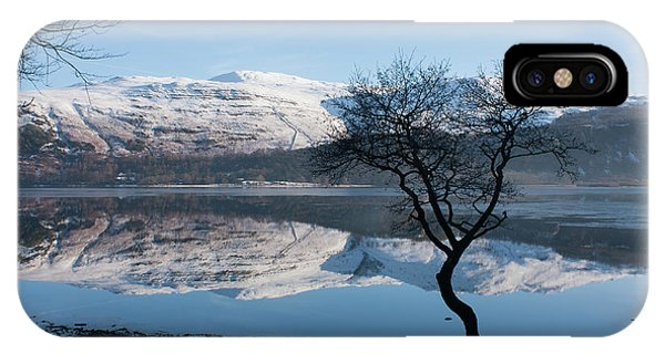 Derwentwater Tree View IPhone Case