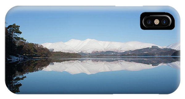 Derwentwater Winter Reflection IPhone Case