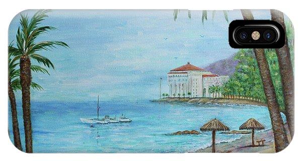 Descanso Beach, Catalina IPhone Case