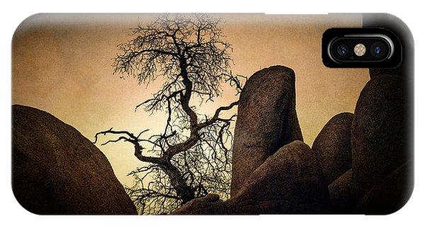 Desert Bonsai II IPhone Case