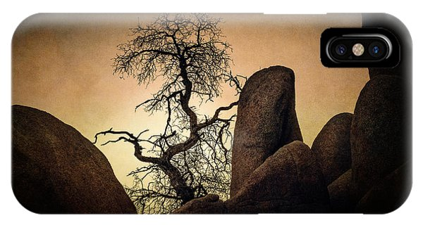 Desert Bonsai II IPhone Case