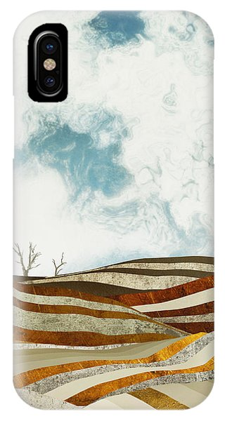 Abstract Landscape iPhone Case - Desert Calm by Spacefrog Designs