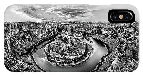 IPhone Case featuring the photograph Desert Cauldron by Az Jackson