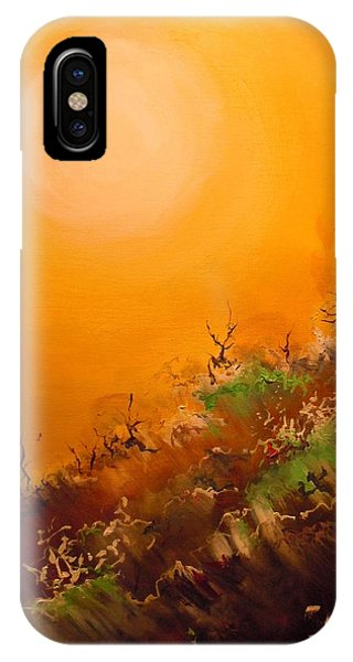 Hot Desert  Evening  IPhone Case