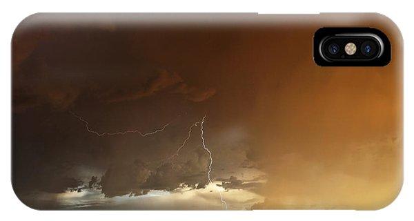 Desert Fire IPhone Case