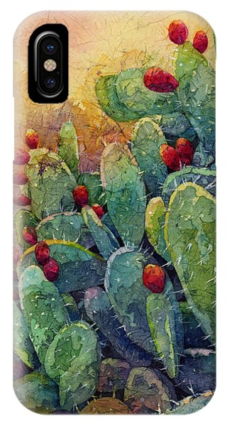 Pear iPhone Case - Desert Gems 2 by Hailey E Herrera