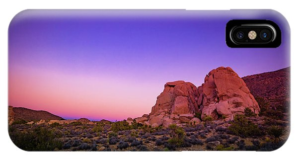 IPhone Case featuring the photograph Desert Grape Rock by T Brian Jones