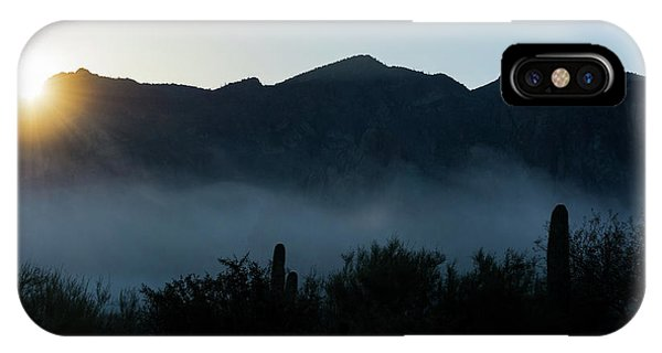 Desert Inversion Sunrise IPhone Case