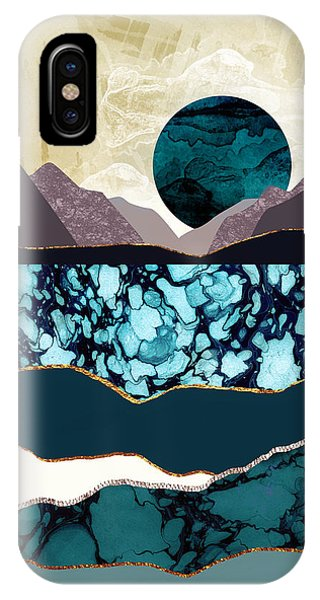 Abstract Landscape iPhone Case - Desert Lake by Katherine Smit