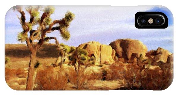 Barren iPhone Case - Desert Landscape by Sarah Kirk