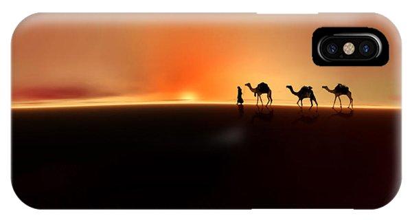 Desert Mirage IPhone Case