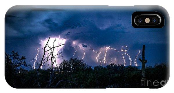 Desert Monsoon IPhone Case