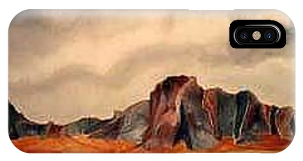 Desert Mountains Phone Case by Fred Jinkins