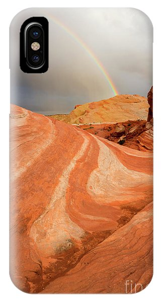 Desert Rainbow IPhone Case