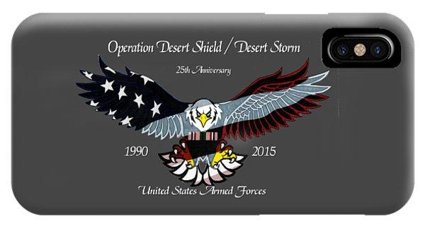 Desert Storm 25th Anniversary IPhone Case