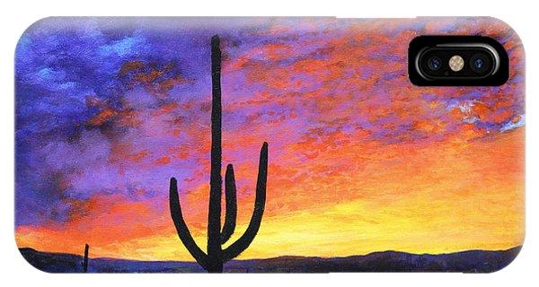 Desert Sunset 4 IPhone Case