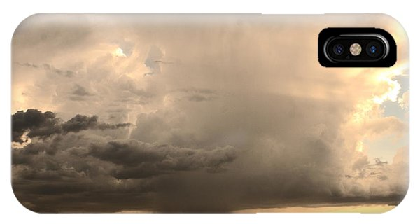 Desert Thunderstorm IPhone Case