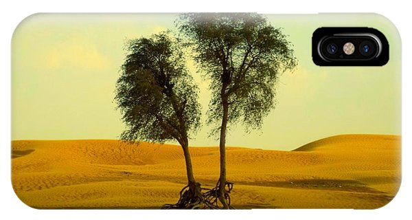 Desert Trees IPhone Case