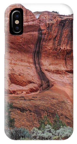 Desert Varnish Along Burr Trail IPhone Case