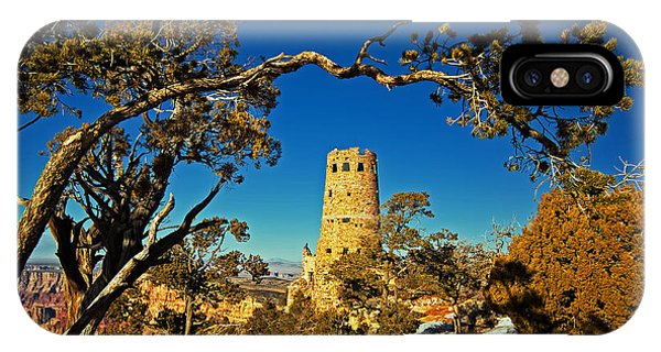 Desert View Watchtower, Grand Canyon National Park, Arizona IPhone Case