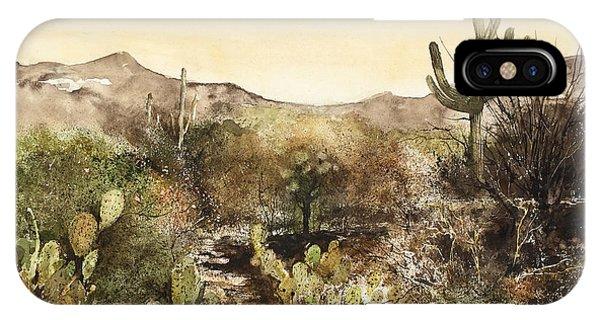 Desert Walk IPhone Case