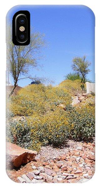 Desert Yard IPhone Case