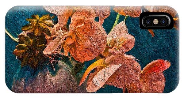 Designer Floral Arrangement IPhone Case