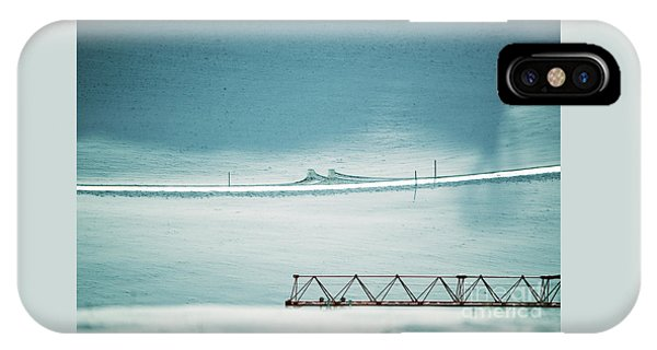 Designs And Lines - Winter In Switzerland IPhone Case