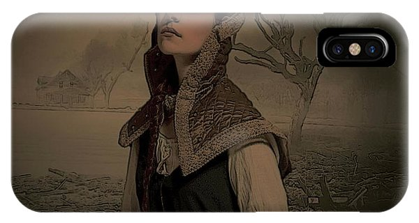 Anguish iPhone Case - Desolation by G Berry