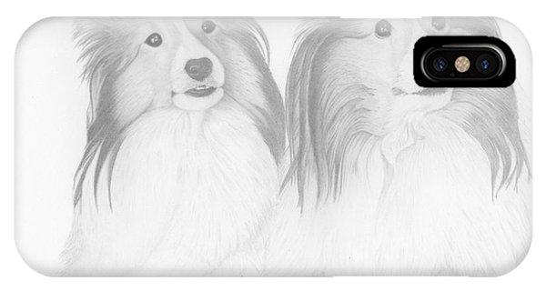 Destiny And Ziva IPhone Case