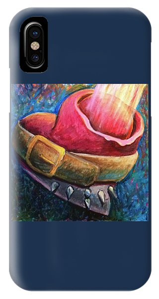 IPhone Case featuring the painting Destiny Calling by Lisa DuBois