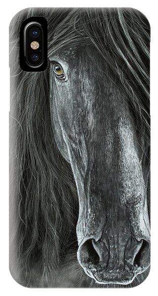 Detail In Black IPhone Case