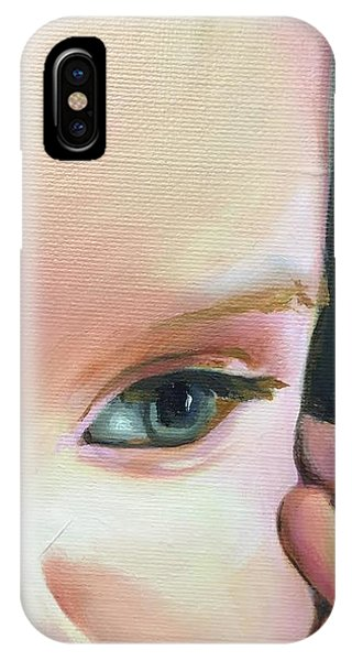 detail of Benson IPhone Case