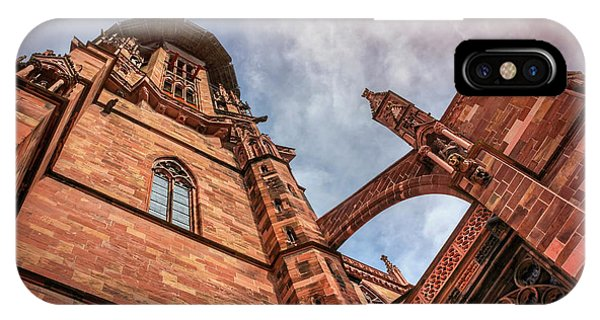 Detail Of Freiburg Cathedral Germany  IPhone Case