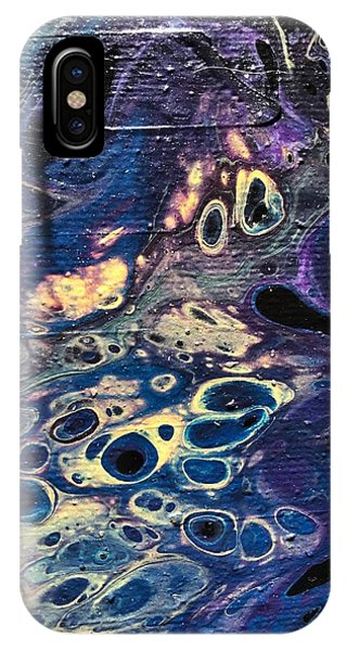 IPhone Case featuring the painting Detail Of He Likes Space by Robbie Masso