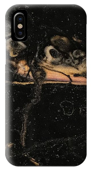 IPhone Case featuring the painting Detail Of New Orleans Saxophone by Robbie Masso